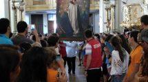 peregrinos-jóvenes-Ávila