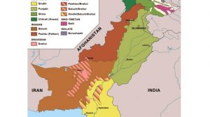 Pakistán-Mapa