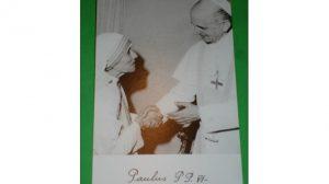 teresa Calcuta-Pablo VI