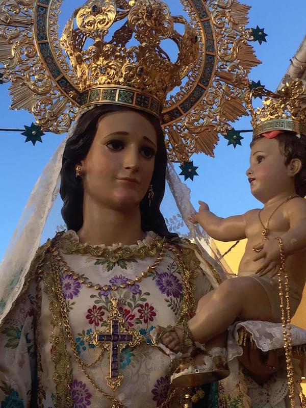 Cartagena la virgen del rosario de bullas y la vera cruz de cartagena la virgen del rosario de bullas y la vera cruz de caravaca se hermanan thecheapjerseys Choice Image