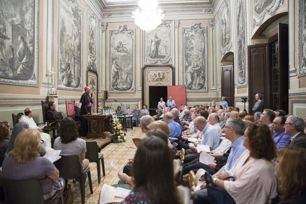Primera sesi n de clausura de una causa de canonizaci n de for V encarnacion salon