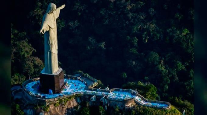 Monumento Del Cristo Redentor De Brasil Cumple 85 Años