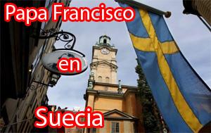 Papa Francisco en Suecia