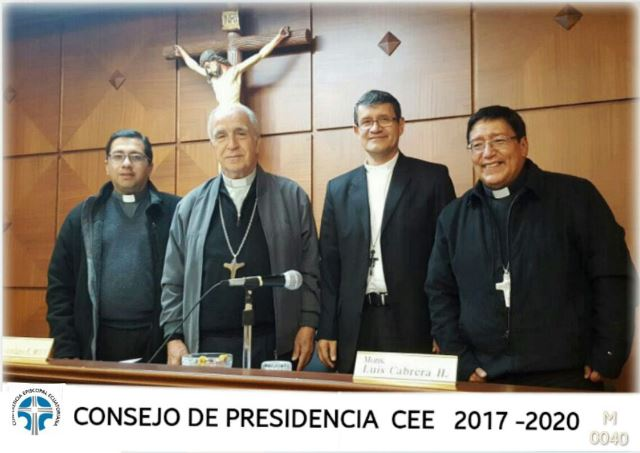 Presidencia del episcopado de Ecuador