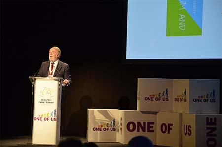 "Resultado de imagen de Foro Europeo ""One of Us"" en Budapest:"