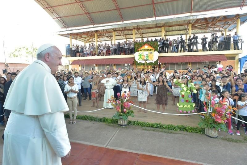 Saludo del Papa Francisco a los niños de la Casa Hogar El Principito ...
