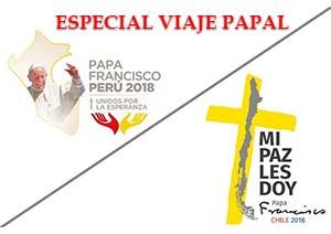 El Papa Francisco a Chile y Perú