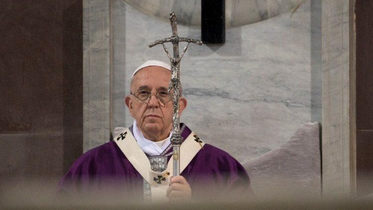50 frases en Twitter del Papa Francisco sobre la Cuaresma