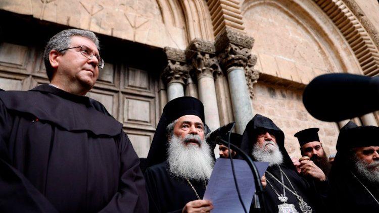 El padre Francesco Patton, Custodio de Tierra Santa, habla sobre el cierre del Santo Sepulcro Santo-Sepulcro-Francesco-Patton