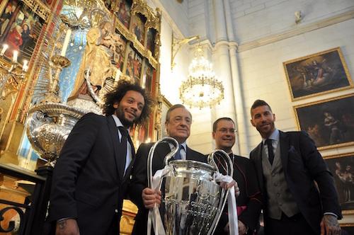 Champions League: el eufórico festejo de Real Madrid en el vestuario
