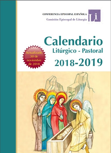 Aci Prensa Calendario.Calendario Liturgico Pastoral 2018 2019