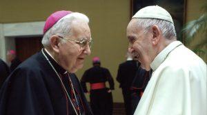Julián López y el Papa Francisco