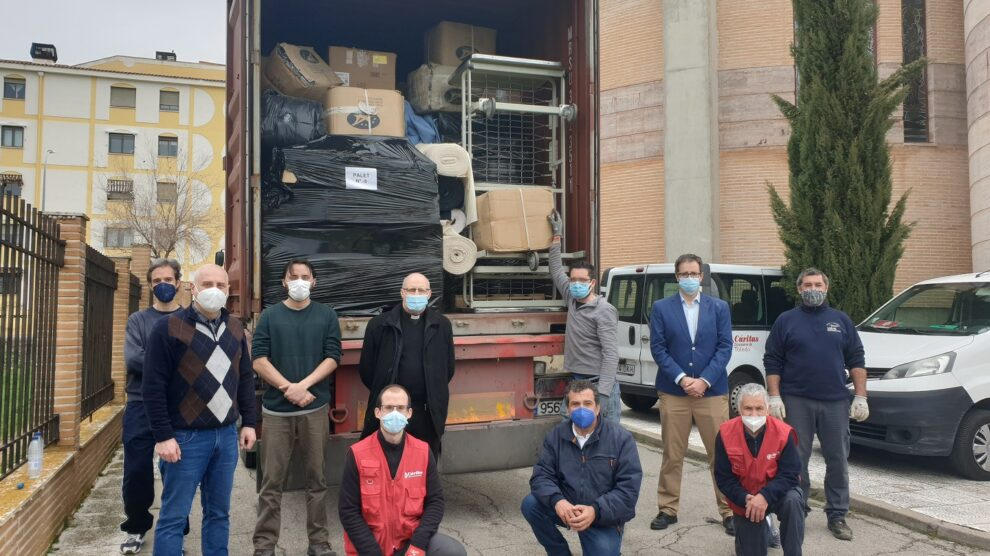 Cáritas Toledo envía un contenedor de ayuda al Líbano, en colaboración con Farmacéuticos sin Fronteras