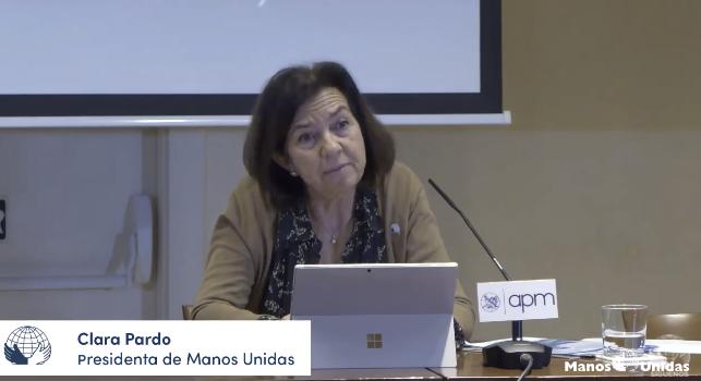 Clara Pardo: el hambre mata más que la covid