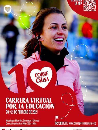 Más de 14.000 personas correrán junto a Entreculturas por el derecho a la educación