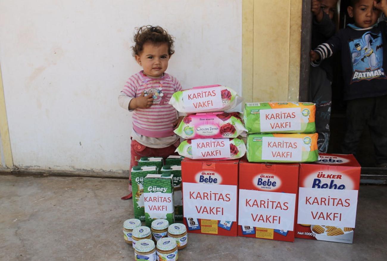 Cáritas: con la infancia en el décimo aniversario de la guerra de Siria