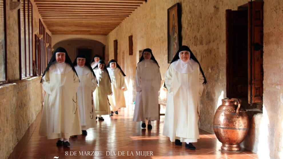 Las dominicas de Caleruega reivindican el papel de las monjas de clausura en el 8M por su «entrega y valentía»