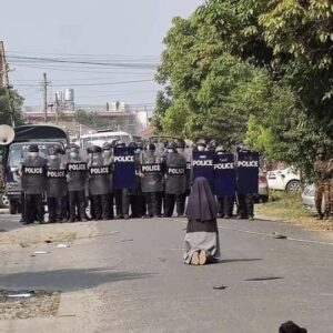 Sor Nu Thawng, la religiosa que evitó una masacre