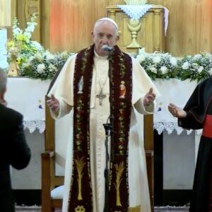 Francisco, a los obispos y sacerdotes de Irak: «No renieguen nunca del santo pueblo de Dios»