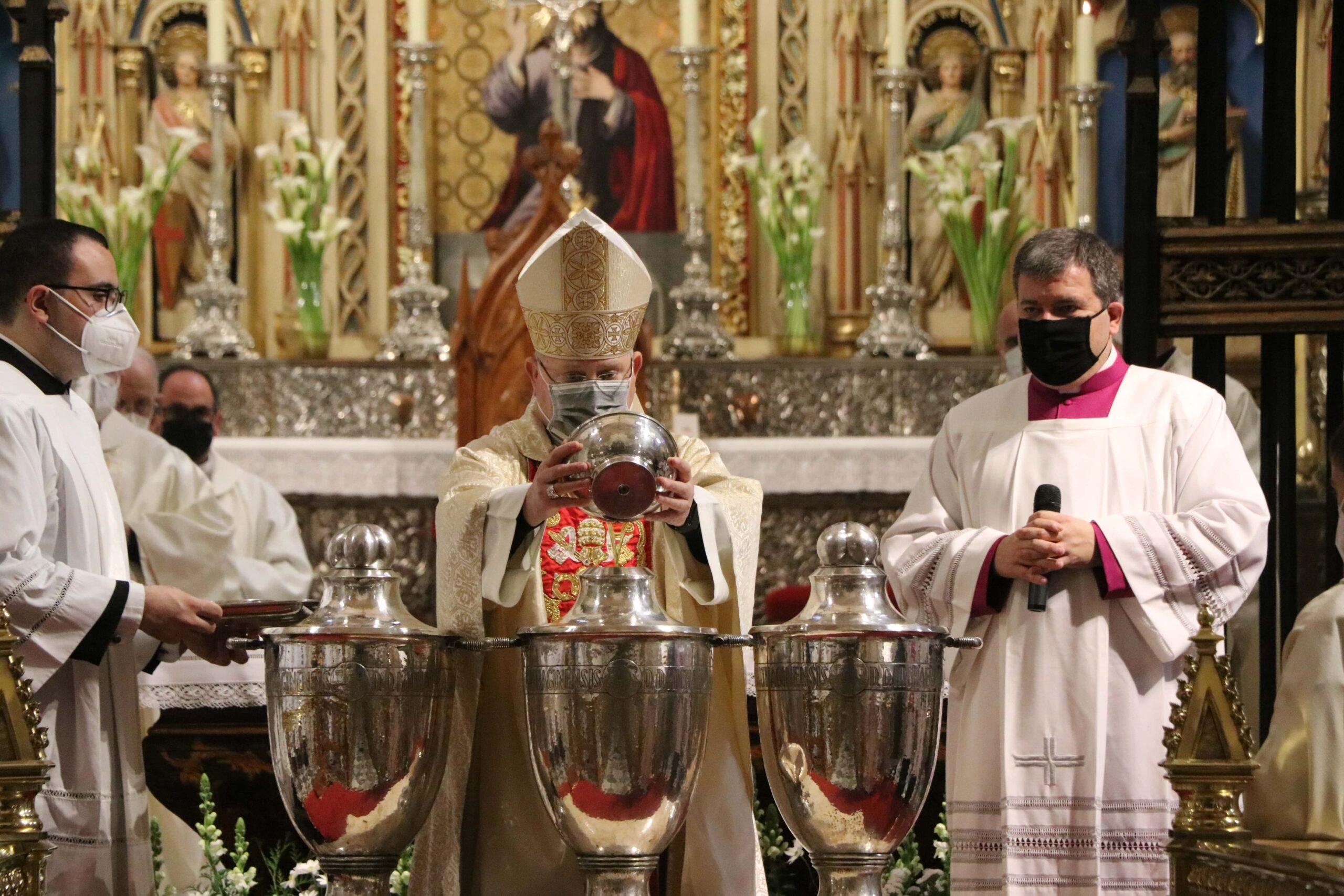 Misa Crismal: Lorca Planes insta a los sacerdotes a gastar la vida en la predicación del Evangelio
