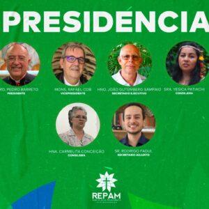 La REPAM incorpora a su presidencia a dos mujeres y a un laico