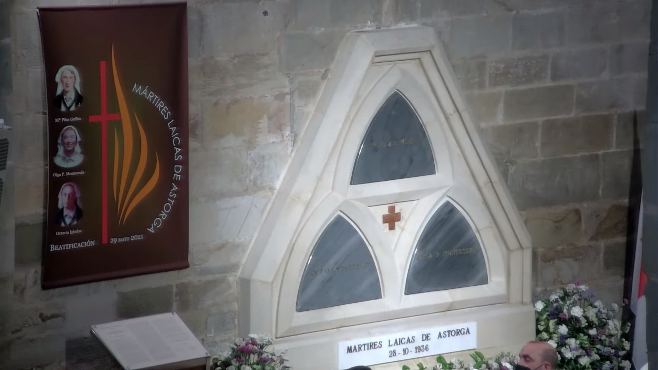 Estas son las tres mártires laicas beatificadas hoy en Astorga