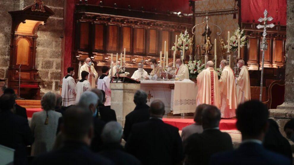 Misa en honor a San Pedro Regalado en Valladolid