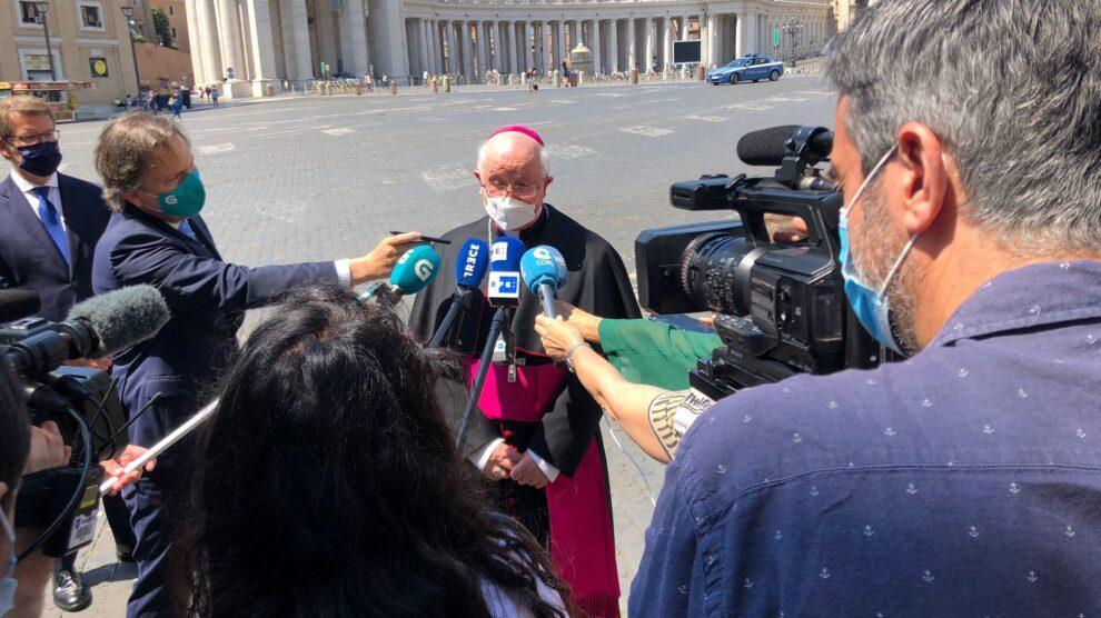 Visita de Julián Barrio al Papa Francisco